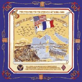 Foulard du Débarquement de Provence