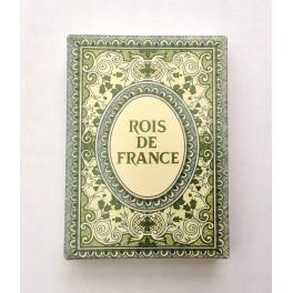 Jeu de 54 cartes Rois de France