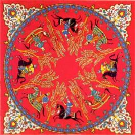 Foulard Cavaliers Perses Rouge