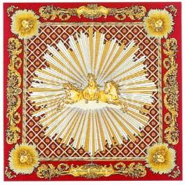 Foulard de la Grande Ecurie du Roy, rouge