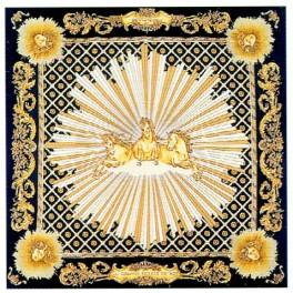 Foulard de la Grande Ecurie du Roy, noir