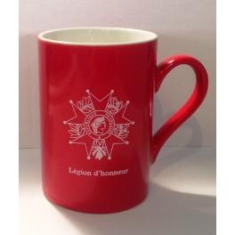 Mug Légion d'honneur rouge
