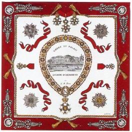 Foulard de la LH (Ordre et Palais)