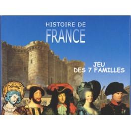 Jeu des 7 familles Histoire de France